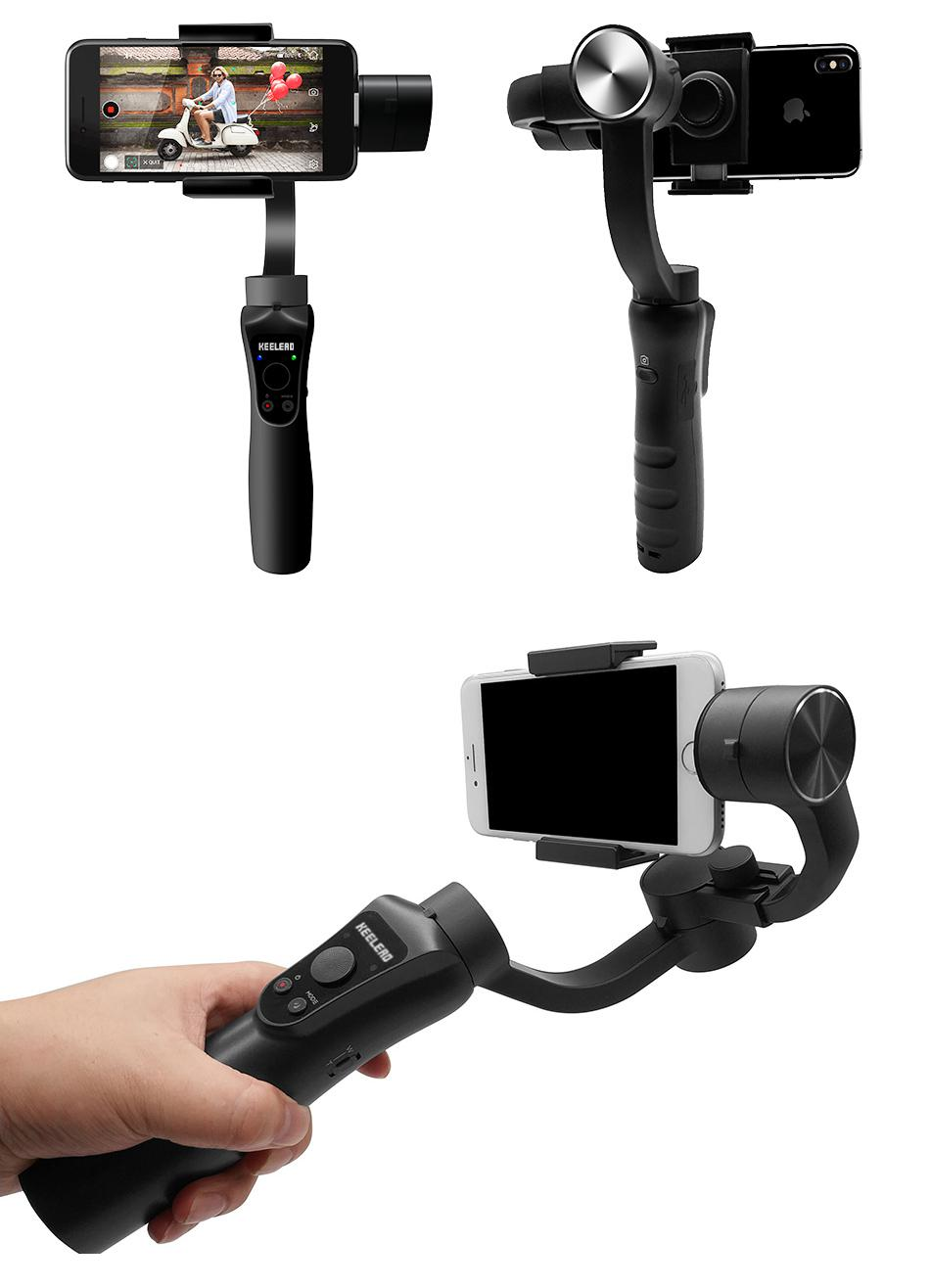 KEELEAD S5 3-Axis Handheld Gimbal Stabilizer
