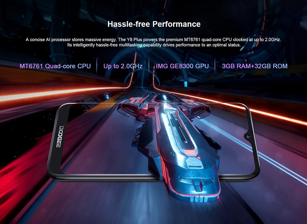 Doogee Y8 Plus Android 9 0 Fdd Lte 6 21 Inch Waterdrop Screen