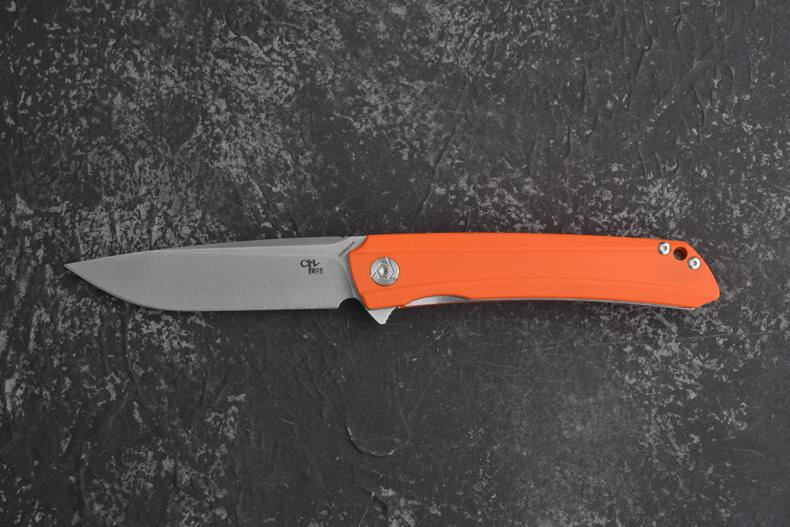 Gearbest CH Knives CH3002 flipper with D2 blade and ceramic ball bearings in 4 colors