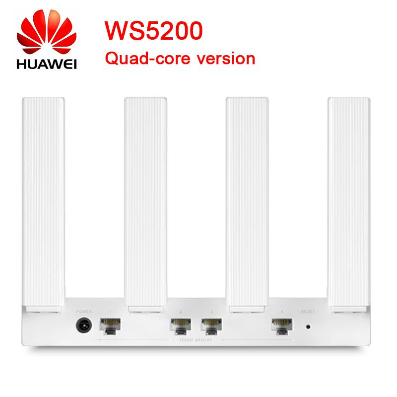 Huawei Router Ws5200 Pro Ws5200 Quad Core Version Router 2 4g 5g 1000mhz Wifi Repetidor Router Sale Price Reviews Gearbest
