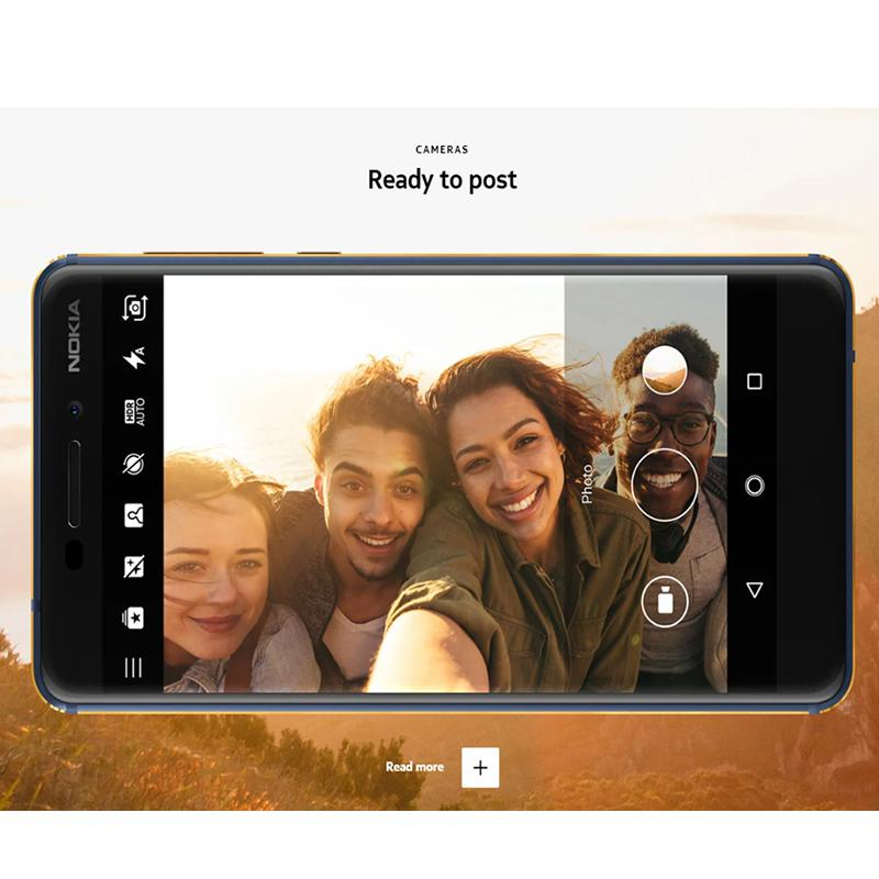 Nokia 6.1 Global Version 5.5 inch FHD NFC Android 9.0 Snapdragon 630 Octa Core 4G SmartPhone - Black France 3GB 32GB