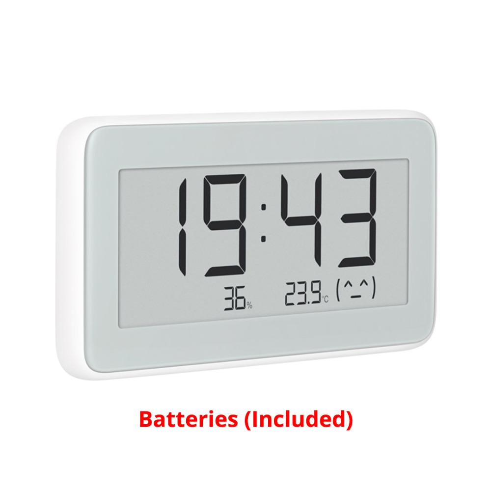 New Mijia Bt4 0 Wireless Smart Electric Digital Clock Indoor Hygrometer Thermometer E Ink Temperature Measuring Tools Sale Price Reviews Gearbest