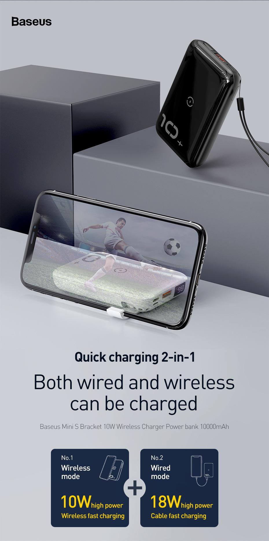 USB C//A Fast Charging with 18W PD3.0 QC 3.0//2.0 Quick Charge Battery Pack Compatible with iPhone 12//12 Mini//12 Pro Max and Other iPhone Android Smartphones JDB PD//QC Portable Charger 10000mAh