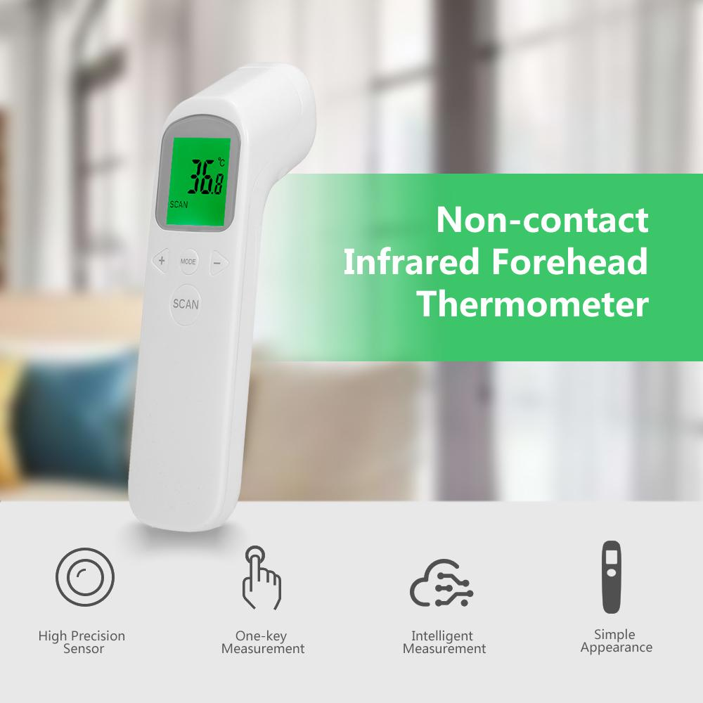 Infrared Digital Non Contact Temperature Adult Baby Body Forehead Thermometer