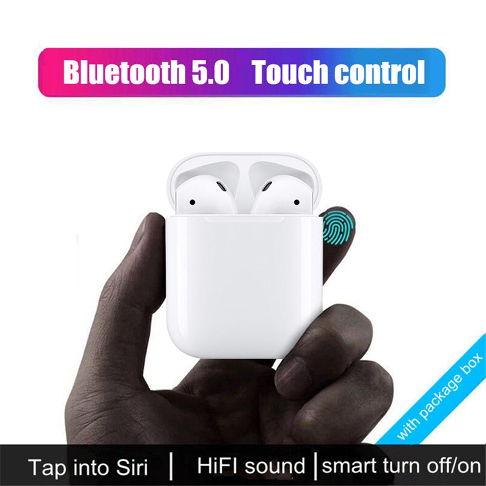 i100 Mini TWS Bluetooth Wireless Charge Touch Pop Up Earphone Bluetooth  Headset
