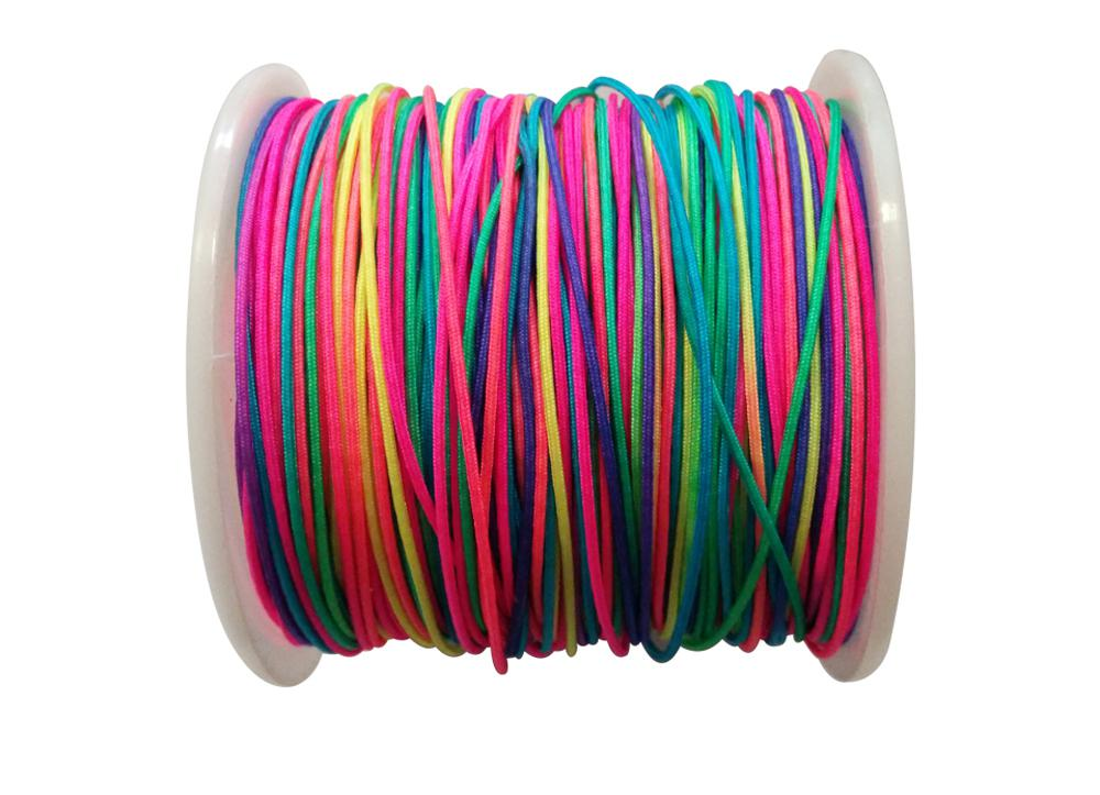 100M Paracord Lanyard Rope 9pcs Strand Cores Rescue Tent Hiking Rope Roll 328FT