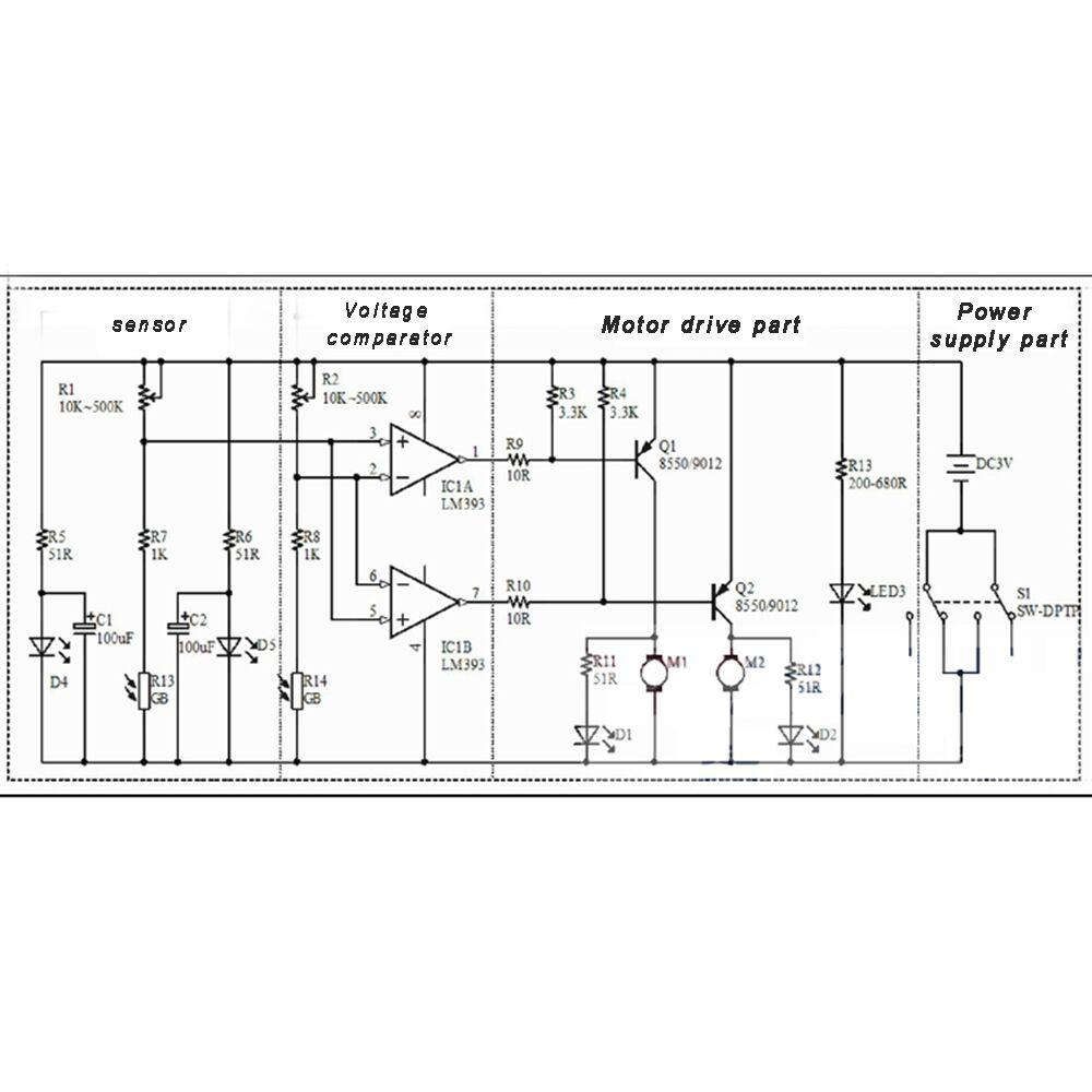 How To Build A Voltage Comparator Circuit With An Lm393