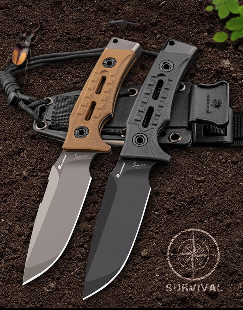 Gearbest HX OUTDOORS TD-13 tactical - survival knives with D2 blade