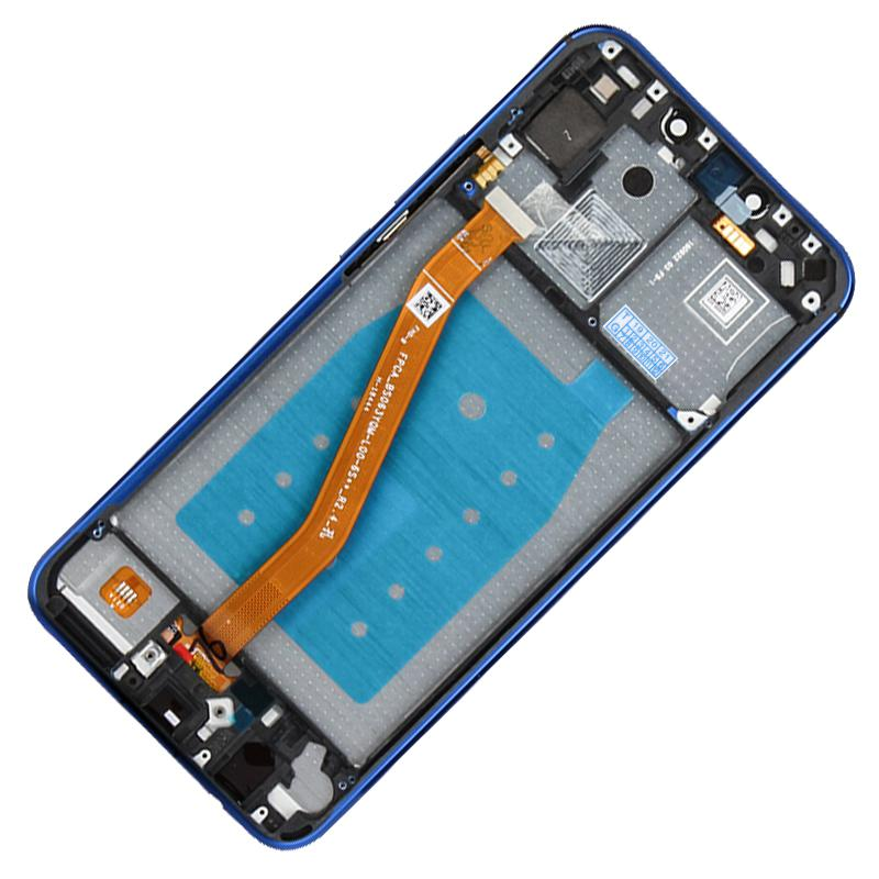 YANGJ LCD Screen and Digitizer Full Assembly with Frame for Huawei Nova 3i Color : Blue Black