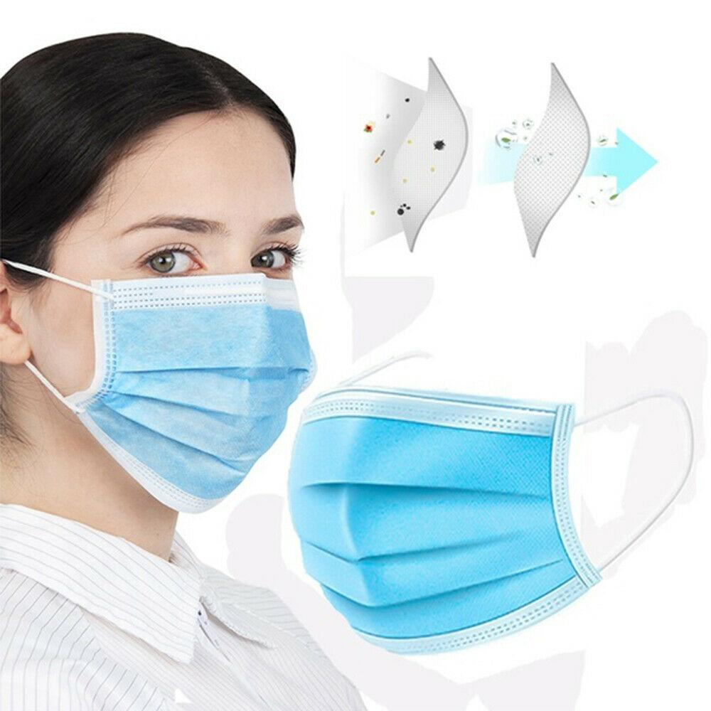 100 pcs disposable surgical mask