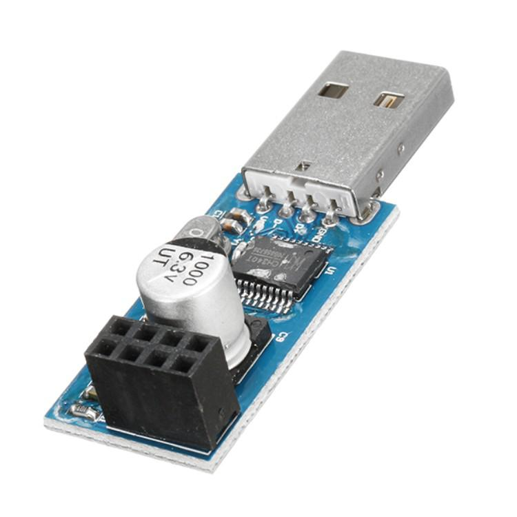 10PCS CH340 USB to ESP8266 WiFi Module Adapter Computer Phone Wireless Communication Microcontroller for Arduino