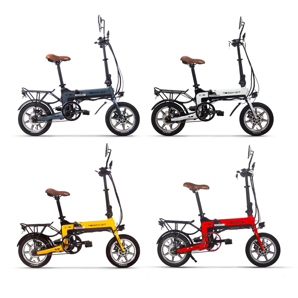 1a7212ed0263 - Coupon code for Rich Bit Ebike RT-619 14 Inch Folding Electric Bike 250W 36V 10.2AH Li-ion Battery 5 Level Pedal Assist With Rear luggage rack - Green Poland 1pc