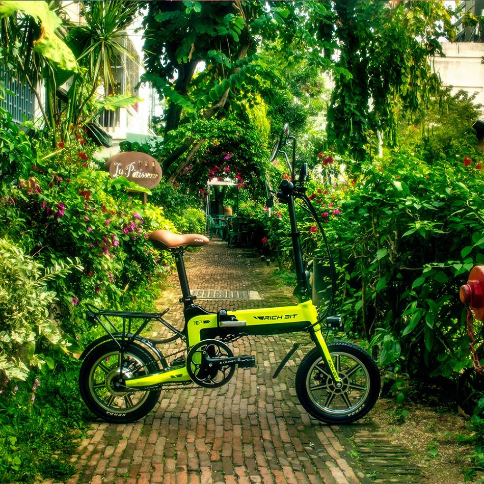 7cf358d1bebe - Coupon code for Rich Bit Ebike RT-619 14 Inch Folding Electric Bike 250W 36V 10.2AH Li-ion Battery 5 Level Pedal Assist With Rear luggage rack - Green Poland 1pc