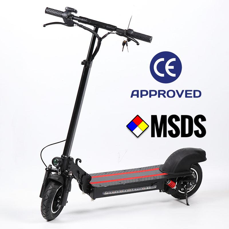 2b24ec99e0bb - Coupon code for Powerful Lamtwheel 10 Inch Folding Electric Kick Scooters for Adults Single Motor 600W 48V 12Ah - Black Germany 1 piece (promotion for new shop)