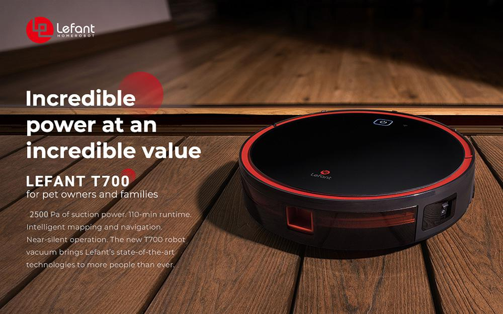 Lefant T700 Robot Vacuums Cleaner Smart Moping APP