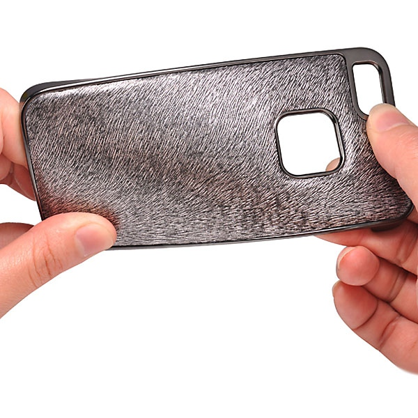 Baseus Unique Tribe Series Fox Texture Style Electroplating Protective Plastic and PU Leather Back Case for iPhone 5