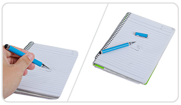 Stylish Portable Metal Touch Stylus Pen for iPhone / iPad