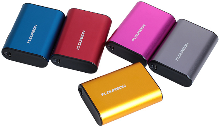 FLOUREON D57 Universal External Battery 5200mAh Power Bank with Torch for iPhone 4 4S 5 5S 5C Samsung S4 i9500 i9505 Samsung Galaxy S5 i9600 Note 2 Note3 Nokia Sony HTC etc.