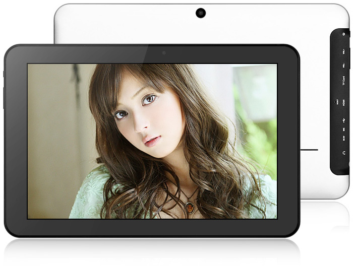 10 1 inch M101 Android 4 1 Tablet PC RK3066 Dual Core 1 5GHz IPS WXGA  Screen 1GB RAM 8GB ROM WiFi HDMI OTG - Silver