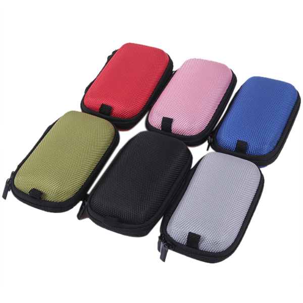 Mini Ego E-Cigarette Storage Case Multiple Mesh Pockets Organizer Pouch Carry Bag