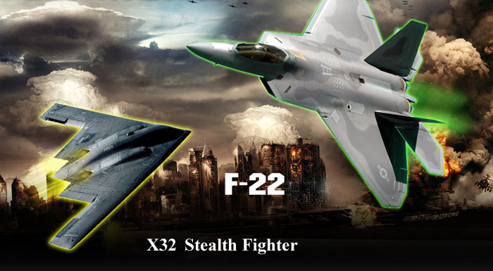 X32 USB Rechargeable 2 4GHz Aircraft 3 Axis Gyro 4 5 Channel Air Force  Quadcopter