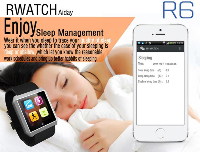 Rwatch r6 16 inch smart bluetooth watch christmas gift camera note remote camera and message function is only supported android phones now apk access modedownload from web address ccuart Images