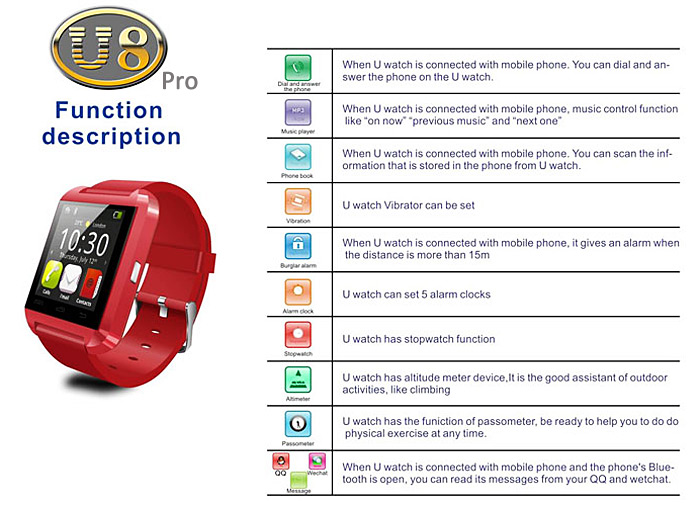 skmei smart watch instructions