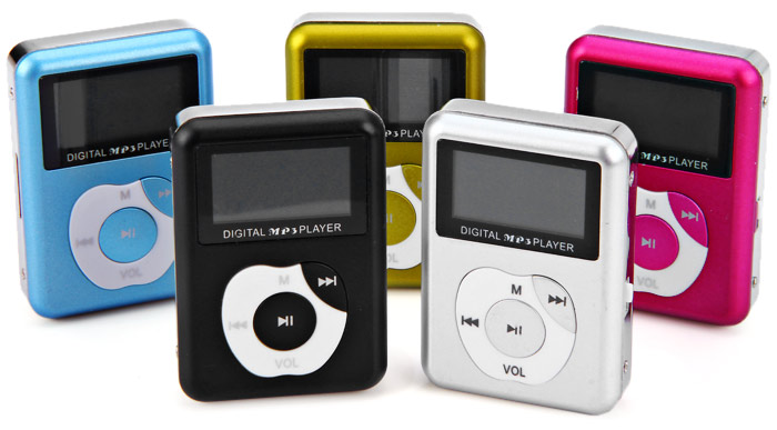 Portable Apple Shaped Small Digital MP3 Player Support TF Card Expansion