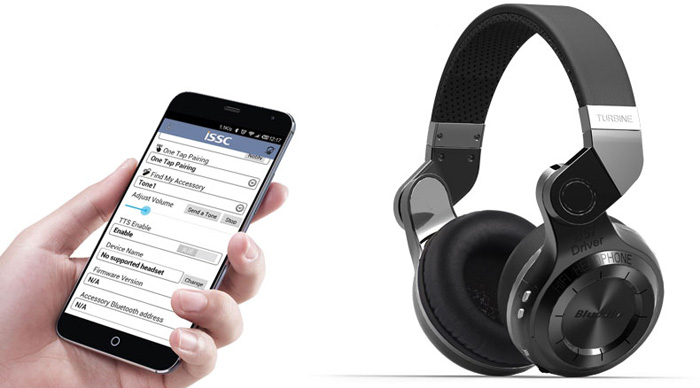 Bluedio T2 Foldable Style Bluetooth V4.1 +EDR Wireless Headset for Smartphone Tablet PC