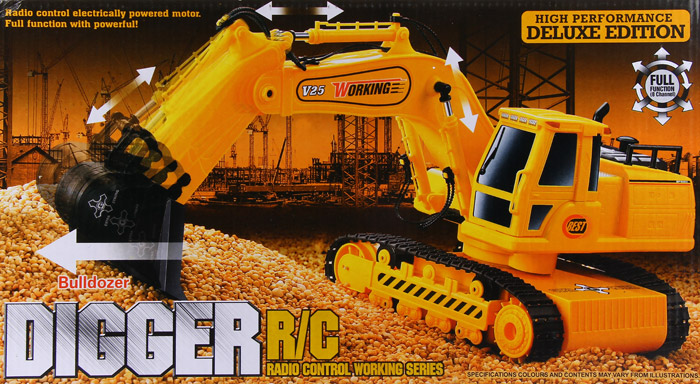 Tomindo Rc Excavator Crawler Flash 8035e A Big Deal Source · Package Contents 1 x Digger 1 x RC Controller 1 x Adapter 1 x 4 8V
