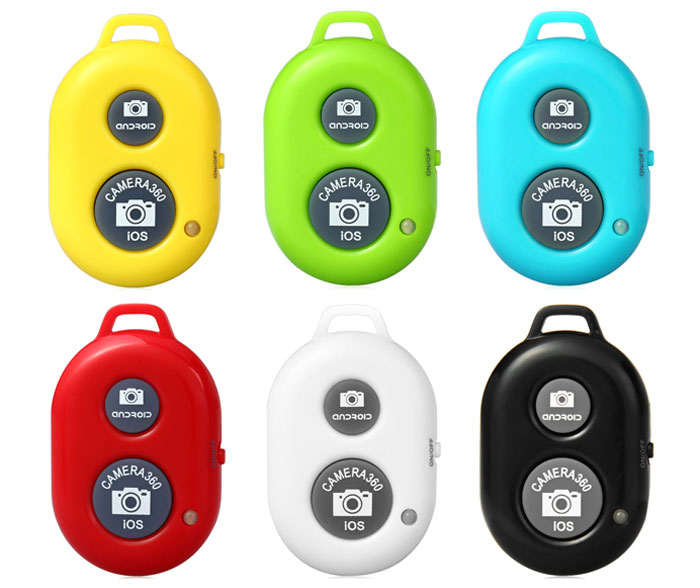ASHUTB Rechargeable Bluetooth Remote Control Camera Shutter Self - Timer