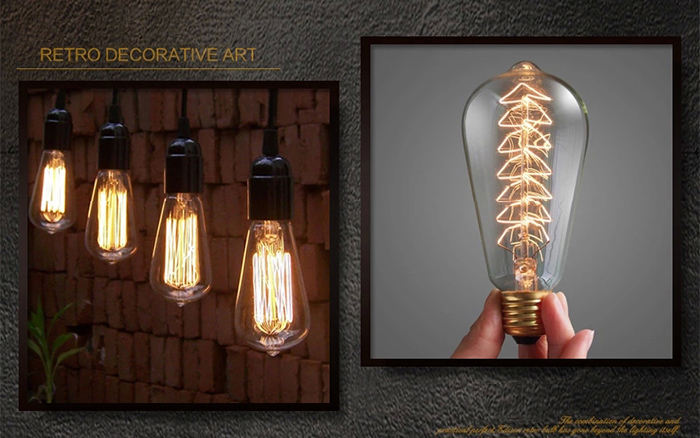classic retro original edison light bulb an exquisite work of art u2022 made of durable thickened retro glass with more than 99percent of light