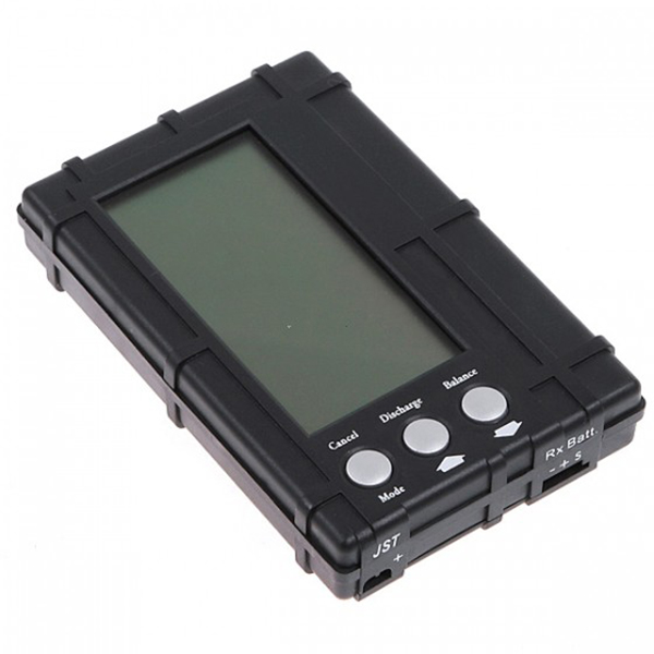 RC 2s - 6s LCD Li - Po Li - Fe Battery Voltage Meter Balancer Discharger