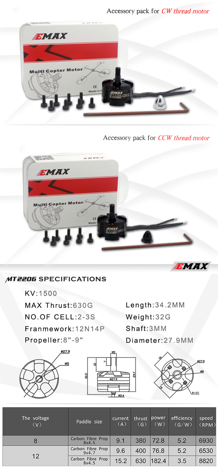 Emax Mt Series Mt2206 1500kv Brushless Ccw Motor Multi Rotor Bundle 10pcs Steam Wallet Idr 400000 Product Safety Disclaimer We Do Not Accept Any Responsibility Or Liability For Misuse Of This Other All Our Products Are Extensively Tested