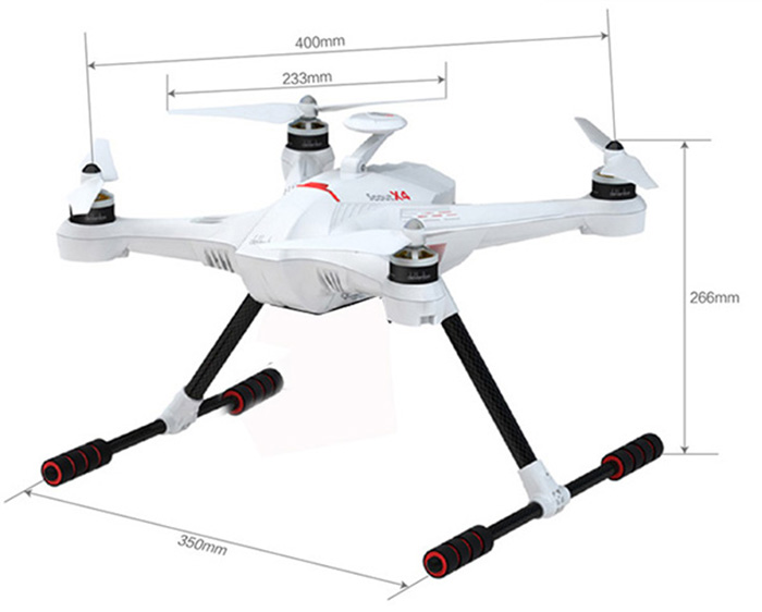 Walkera Scout X4 GPS RC Quadcopter with 5400mAh Battery + Ground Station on