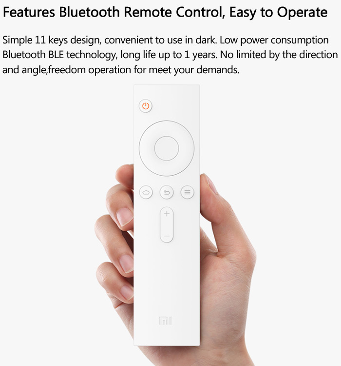 Original XiaoMi MIUI TV Box Dual Band WiFi Bluetooth 4 0 HDMI Single  Connection 1GB / 4GB H 265 Decoder Android 4 4 2 MT8685 Quad Core Only for
