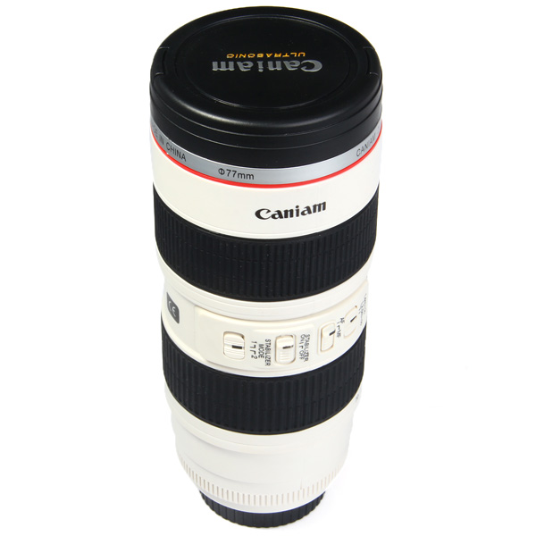 Caniam Camera Lens Cup Coffer Water Mug Cups With EF 70 200mm F/2.8 Amazing Pictures