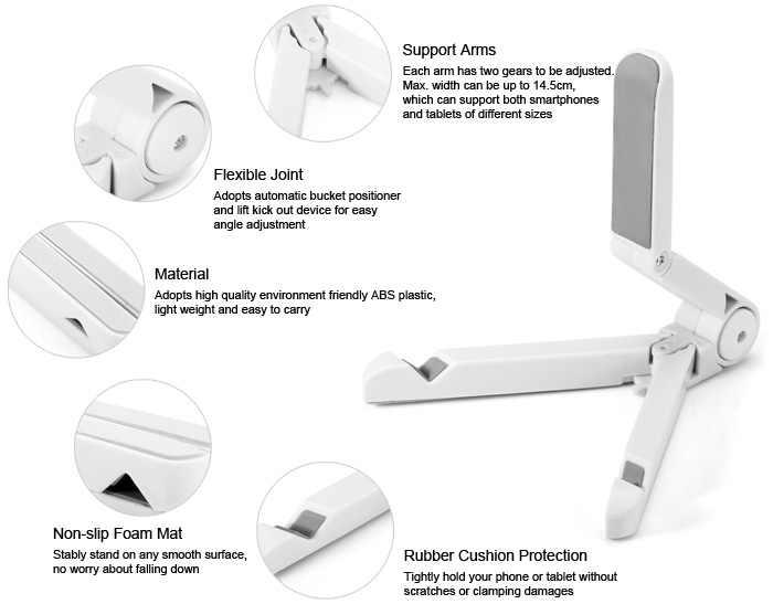 Adjustable 4 – 14 inch Phone Tablet Pad Stand Holder Bracket Review And Coupon Code