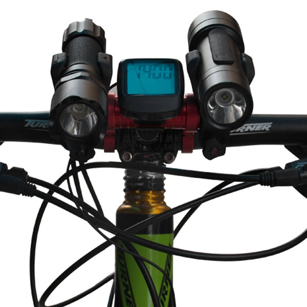 GUB - 558 Aluminum Alloy Stopwatch Rack Stopwatch Stretching Frame Bicycle Handlebar Extension