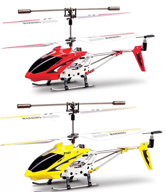 Syma S107g 3ch Infrared Remote Control Helicopter Alloy Copter With