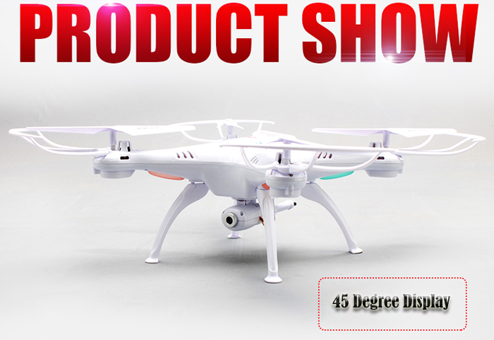 Syma X5SW Explorers 2 2.4GHz 6 Axis 4-channel WiFi FPV RC Drone with 0.3MP HD Camera RTF
