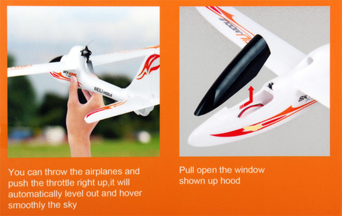 WLtoys F959 Sky King 2 4G 3 Channel RC Aircraft Wingspan RTF Airplane