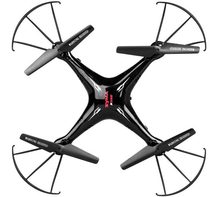 Syma X5SC New Version Syma X5SC - 1 Falcon 4CH 2.4GHz 6 Axis RC Quadcopter with HD Camera 360 Degree Eversion
