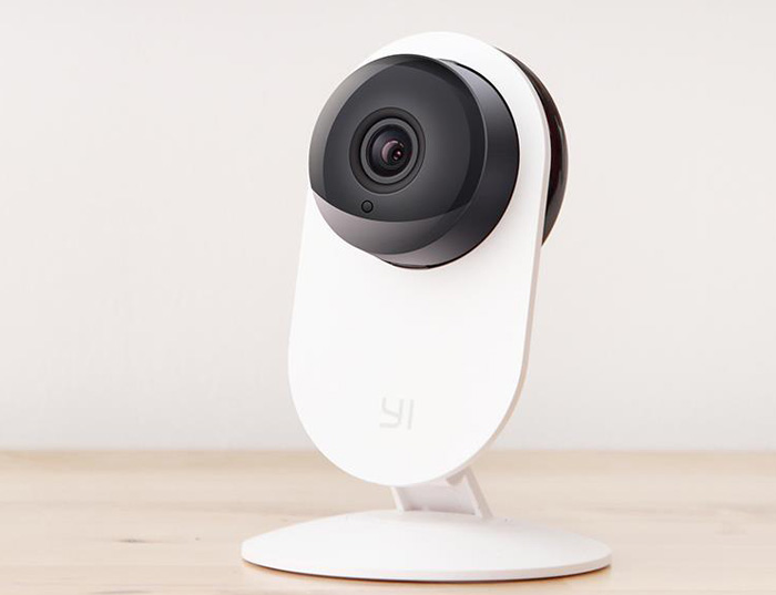Intelligent 720P Baby Monitor Security Camera 4X Digital Zoom Camcorder White