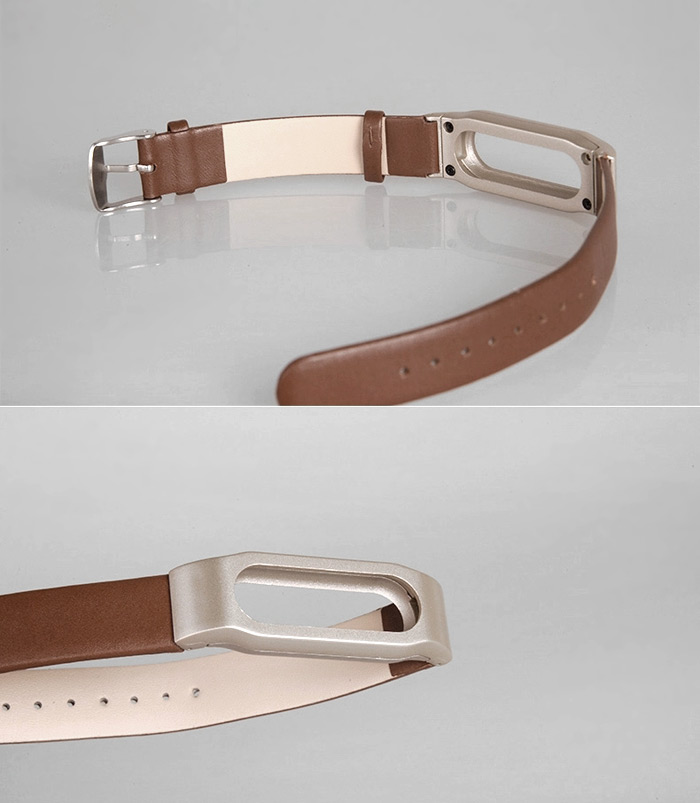Leather Wristband Strap Watchband