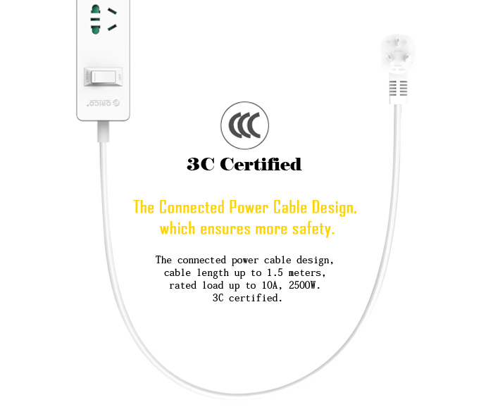 orico surge protector usb charging station power strip