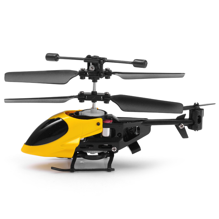 QS QS5013 2.5CH Mini Micro Remote Control RC Helicopter Children Toy- Random Color