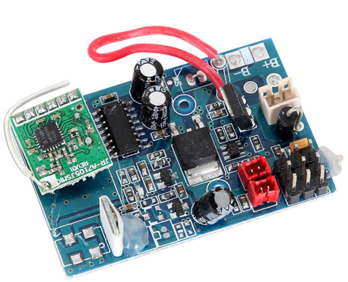 wltoys v912 brushless receiver board gearbestwltoys v912 brushless rc helicopter parts receiver board blue