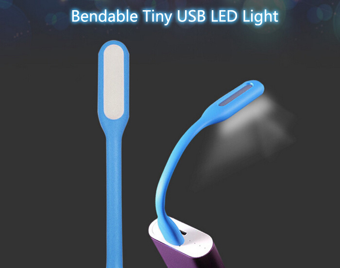 1.5W Bendable USB Mini Light LED Lamp ( DC 5V )