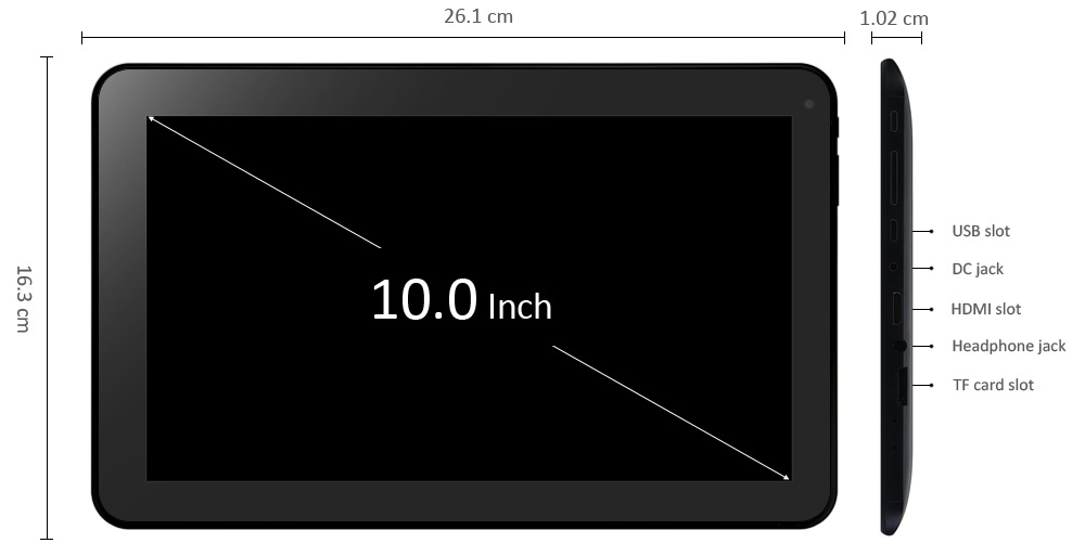 10 inch ATM7029 Tablet PC